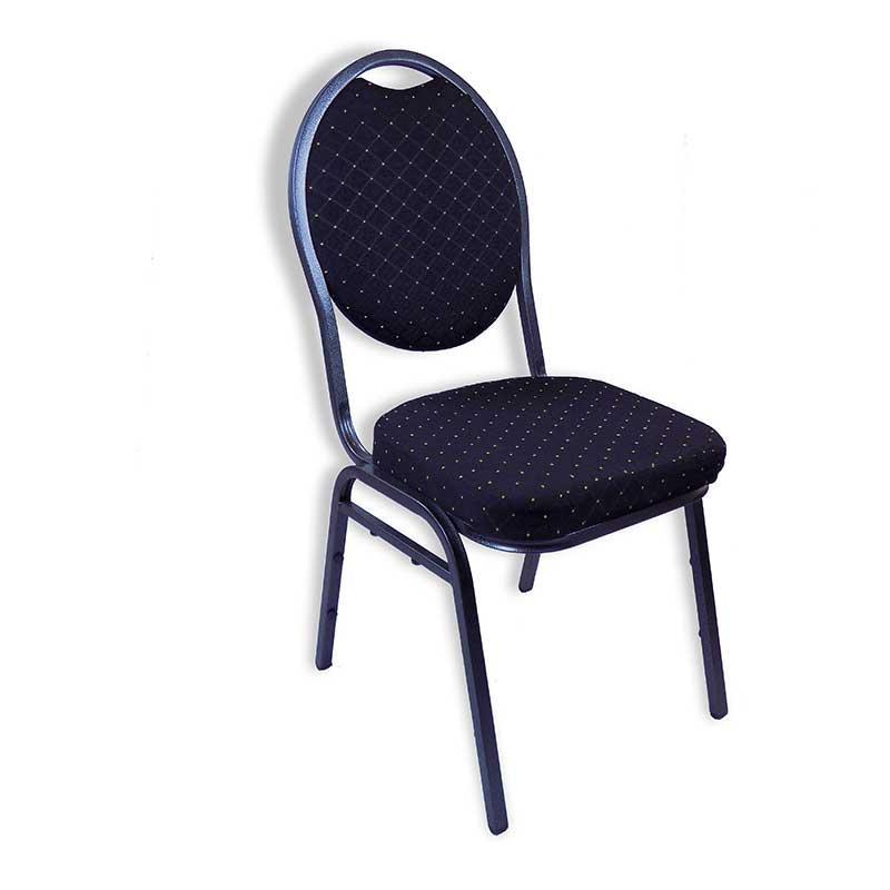 Stackchair black horeca center for Horeca stoelen