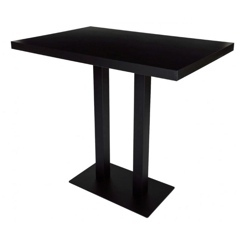 table avec haute table pied horeca center. Black Bedroom Furniture Sets. Home Design Ideas