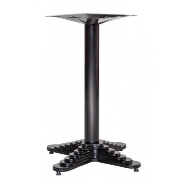 Horeca Tafelonderstel – Zwart – Hoogte 74 Cm