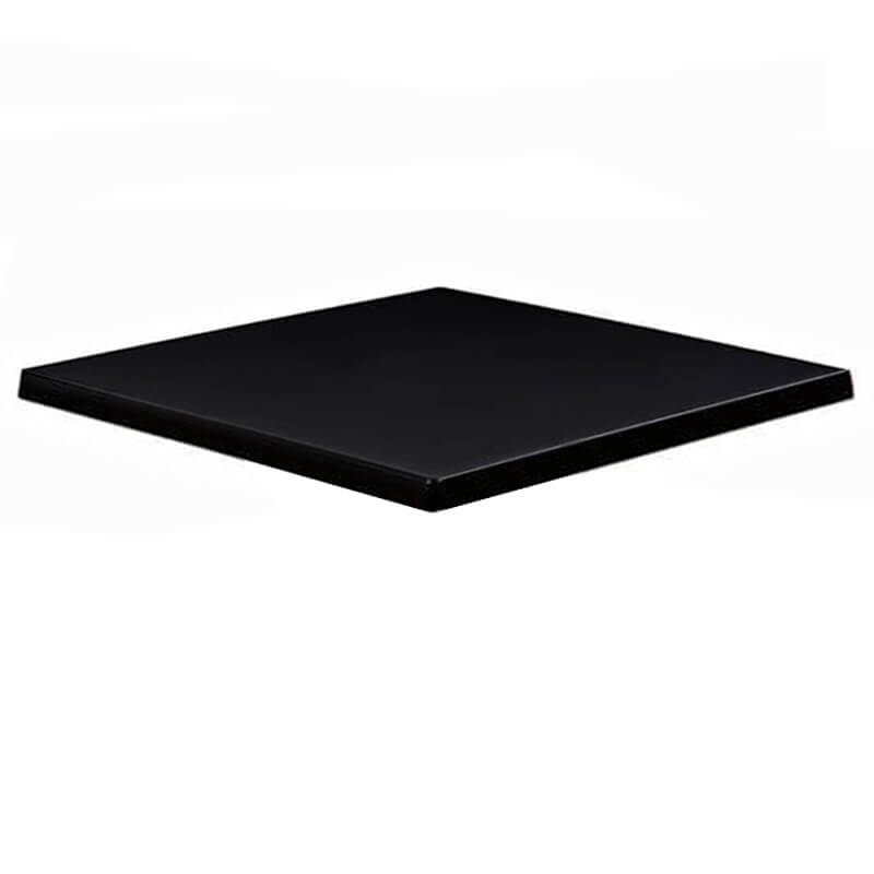 Horeca Tafelblad - Werzalit Zwart - 70x70 - 3 Cm Dik (1)