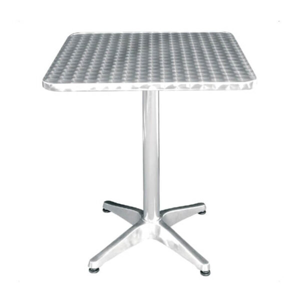 Horeca Terras Tafel Aluminium - U427 - 60x60 Cm