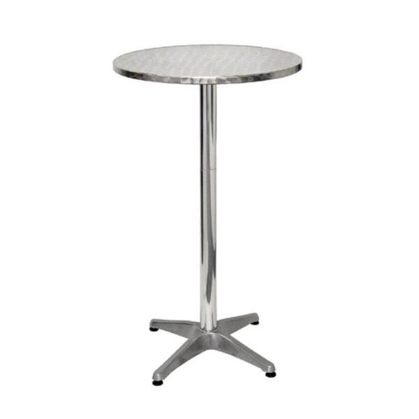Horeca Terras Tafel Aluminium - U502 - Hoog 105 Cm