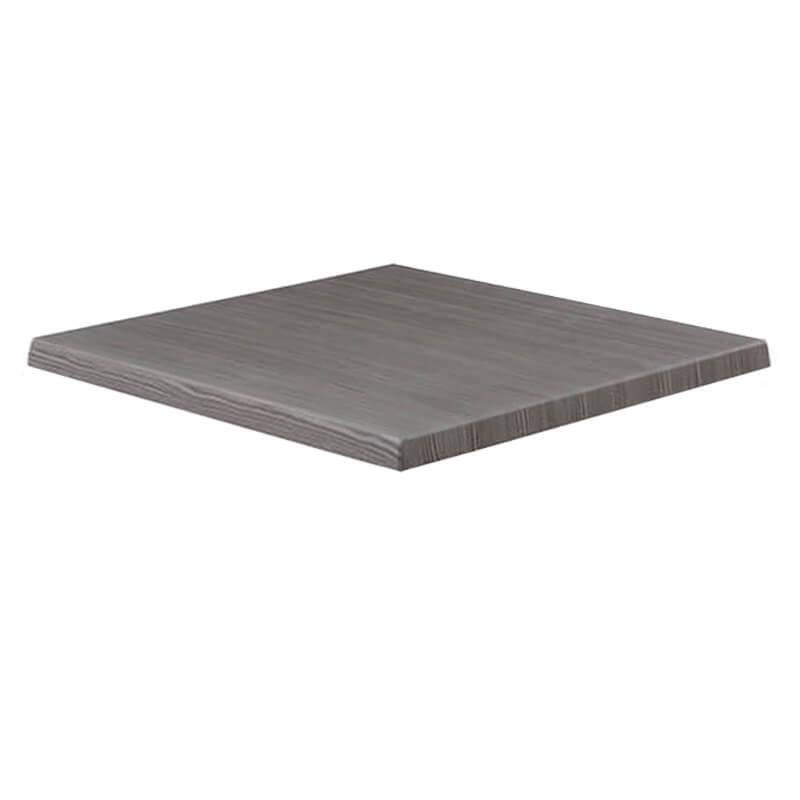 Horeca Tafelblad - Werzalit Grijs Pine - 70x70 - 3 Cm Dik