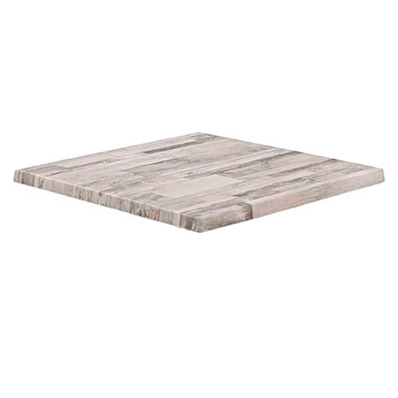 Horeca Tafelblad - Werzalit Wit Blok - 70x70 - 3 Cm Dik