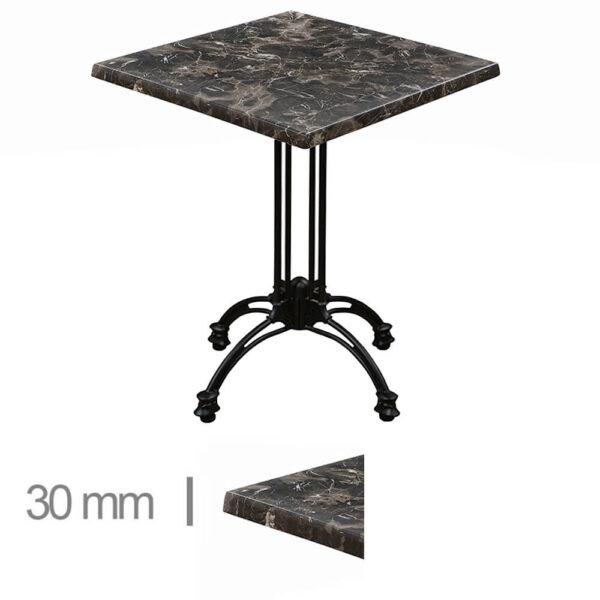 Horeca-Terras-Tafel-Werzalit-Porto-Rosa-60x60-Cm-30mm