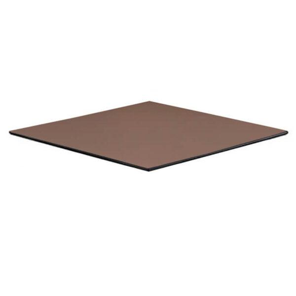Horeca Tafelblad - Compact Taupe - 69x69 - 12 Mm Dik