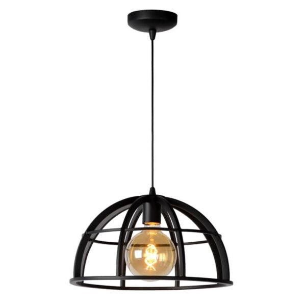 Dikra Hanglamp Ø 40 Cm Zwart