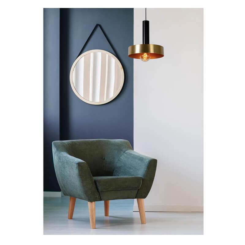 Giada Hanglamp Ø 30 Cm Mat Goud - Messing - 6
