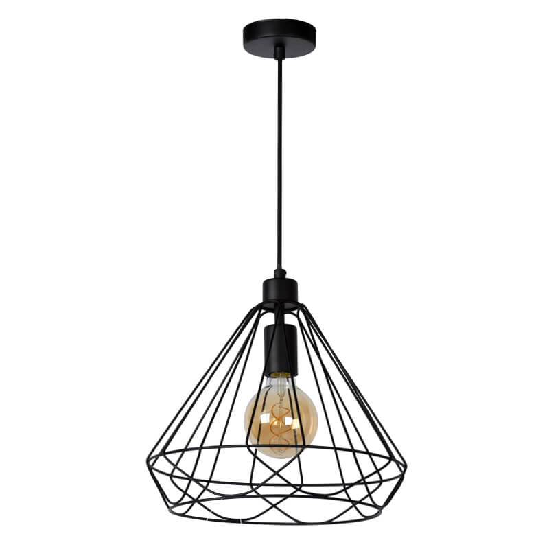 Kyara Hanglamp Ø 32 Cm Zwart - 2
