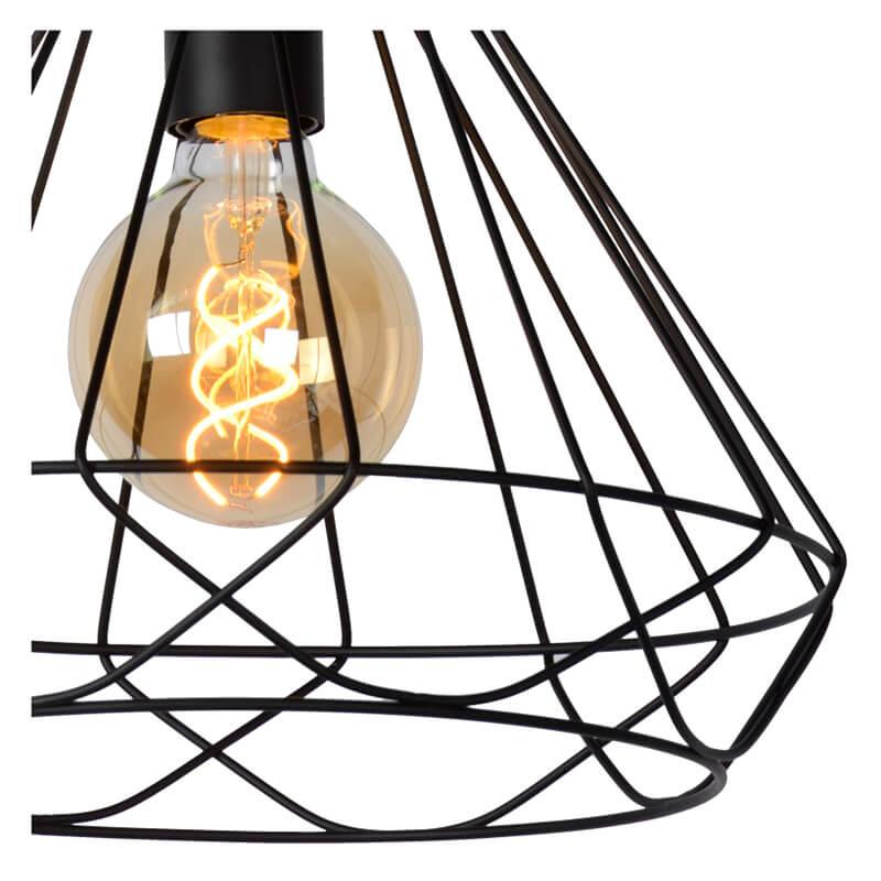Kyara Hanglamp Ø 32 Cm Zwart - 3