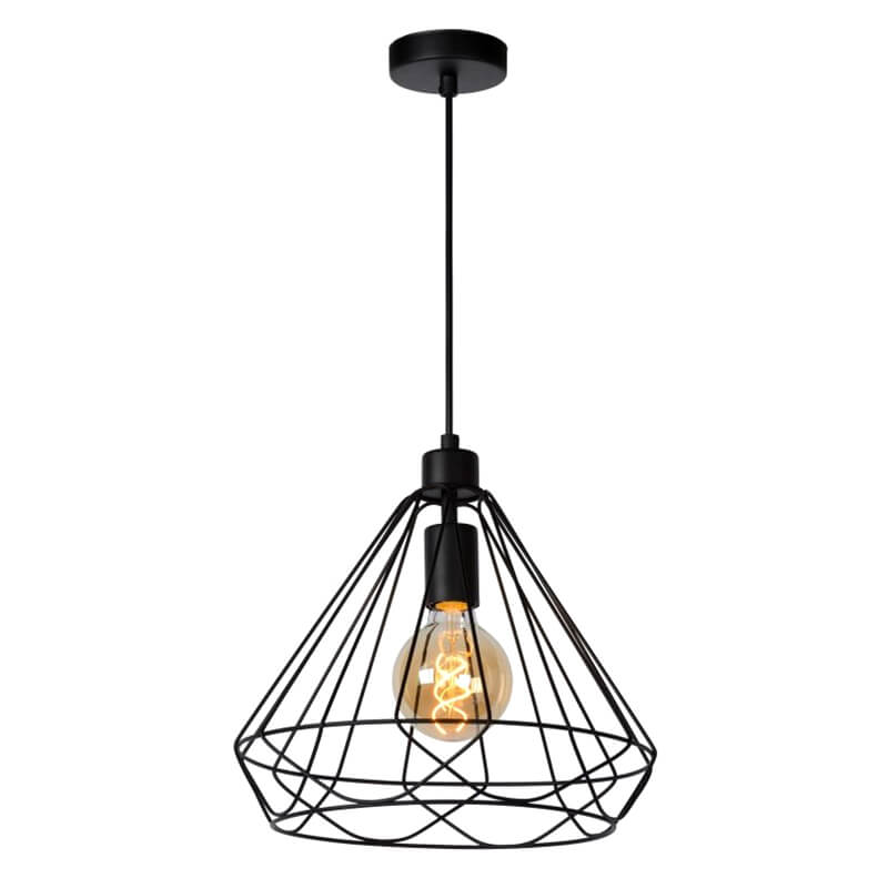 Kyara Hanglamp Ø 32 Cm Zwart