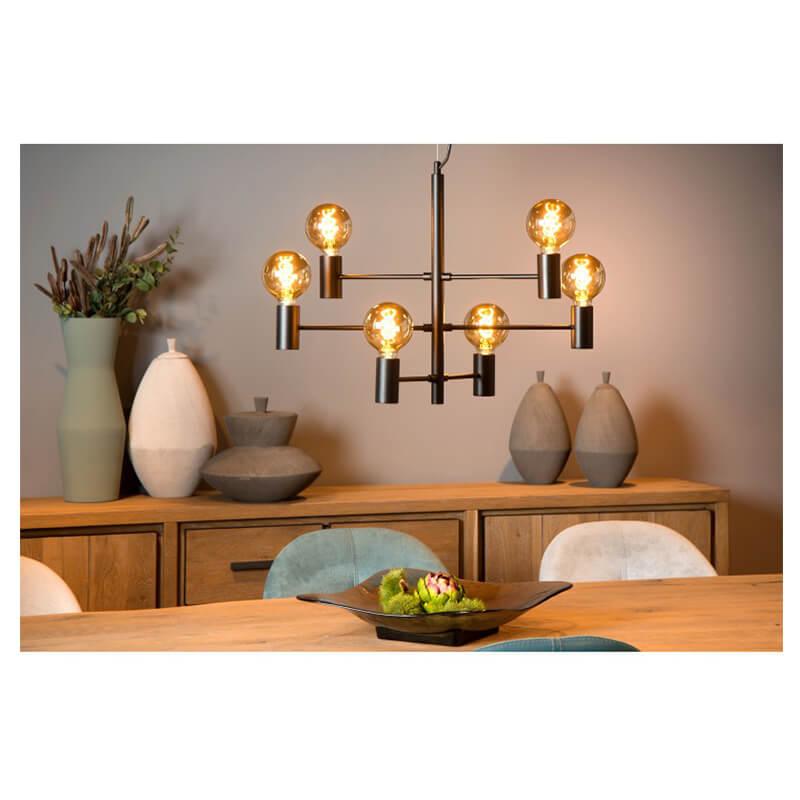 Leanne Hanglamp Zwart - 5