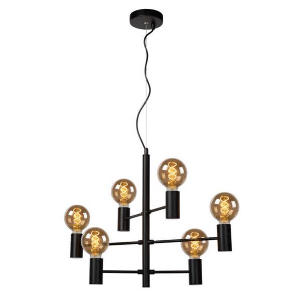 Leanne Hanglamp Zwart