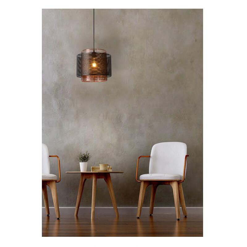 Orrin Hanglamp Ø 34 Cm Brons - zwart - 4