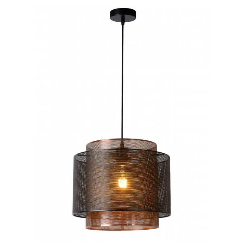 Orrin Hanglamp Ø 34 Cm Brons - zwart