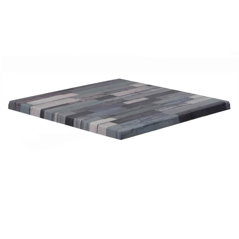 Horeca Tafelblad - Werzalit Blanchas Blauw - 60x60 - 3 Cm Dik
