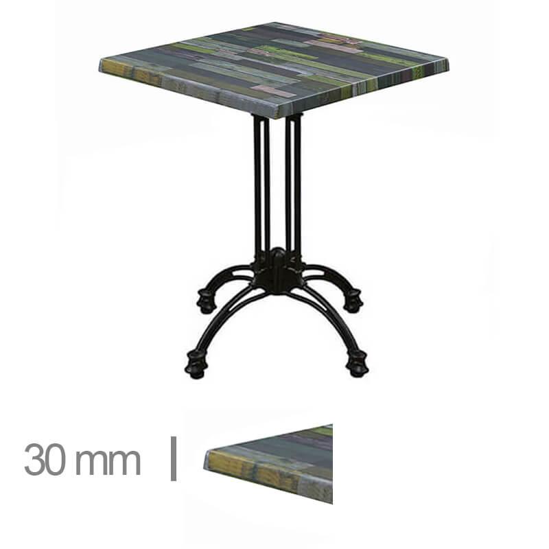 Horeca-Terras-Tafel-Werzalit-Blanchas-Groen-70x70-Cm-30mm