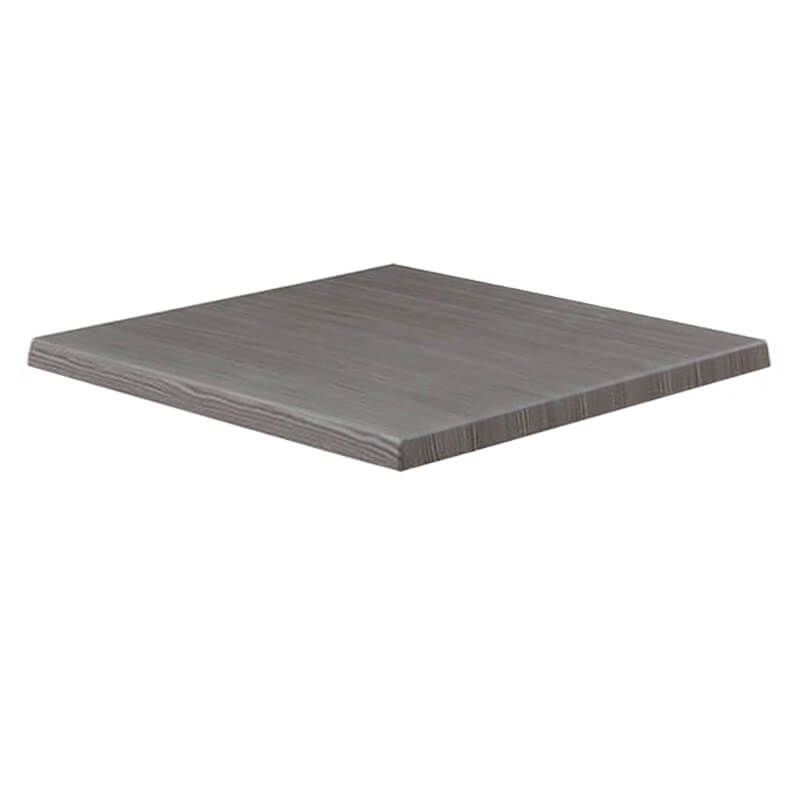 Horeca Tafelblad - Werzalit Grijs Pine - 60x60 - 3 Cm Dik