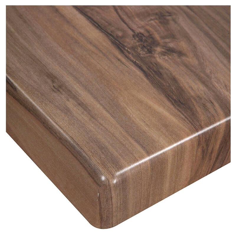 Horeca Tafelblad - Werzalit Indian Shesman - 70x70 Cm - 3 Cm Dik - D-