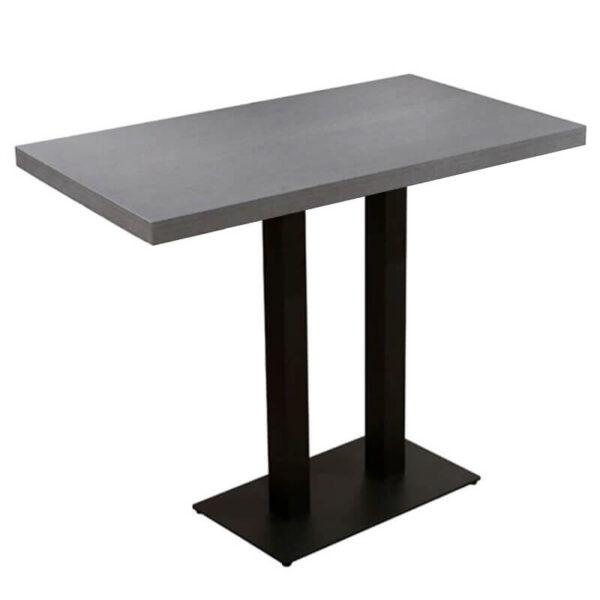 Horeca Statafel - Dublin Grijs - 70x120 - Hoogte 108 Cm (1)