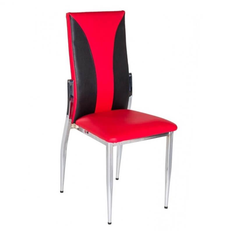 Horeca Stoel - S48 - Rood Zwart