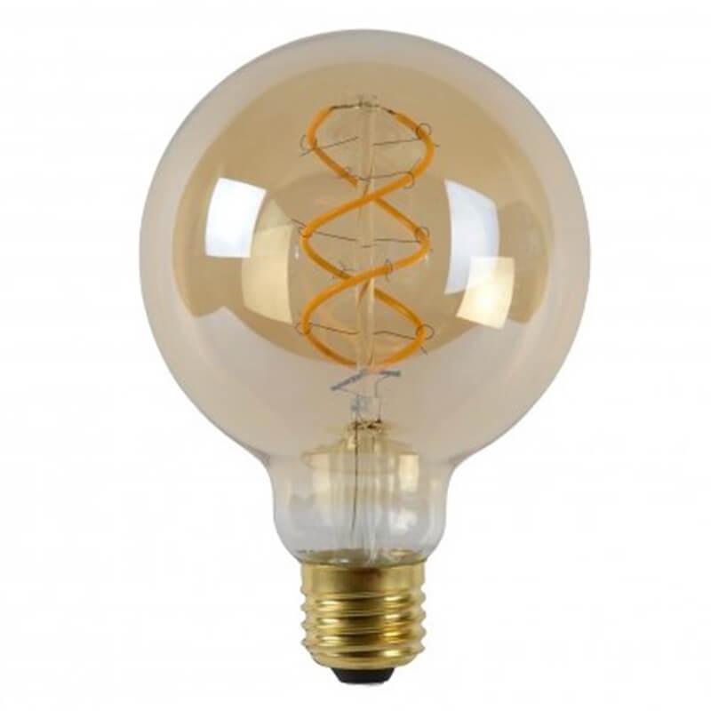 Led Bulb - Filament Lamp - Ø 9,5 Cm - 2