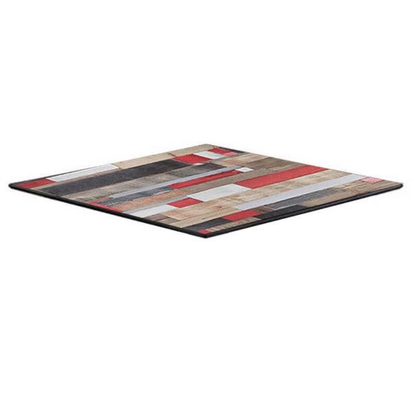 Horeca Tafelblad - Compact Reddenwood - 69x69 - 12 Mm Dik