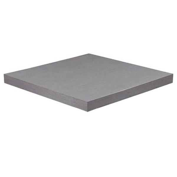 Horeca Tafelblad - Dublin Grijs - 70x70 - 5 Cm Dik