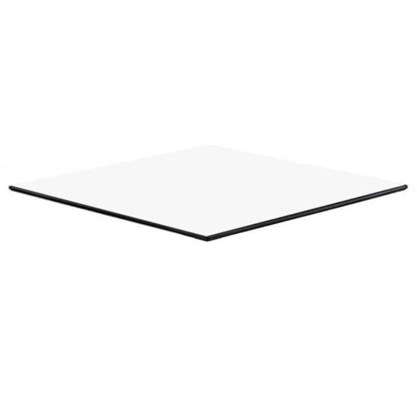 Horeca Tafelblad - Compact Wit - 69x69 - 12 Mm Dik