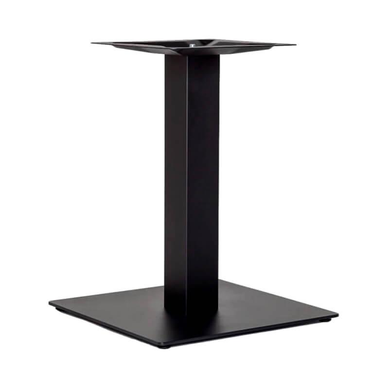 Horeca Tafelonderstel - Zwart - Hoogte 48 Cm