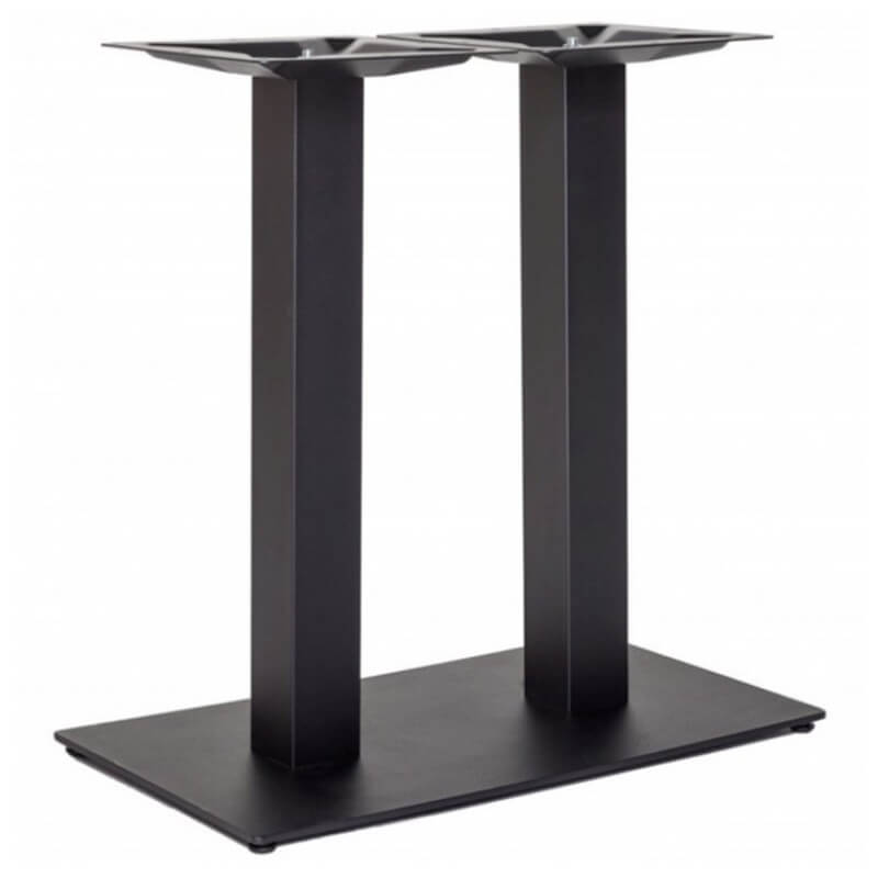 Horeca Tafelonderstel - Zwart - Hoogte 72 Cm