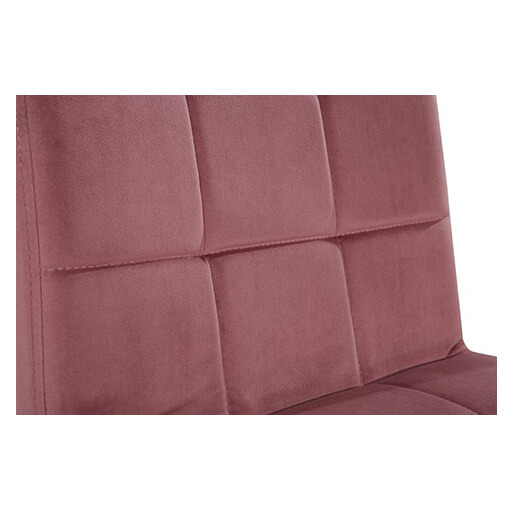 Horeca Stoel - Eros - Vintage Velvet Roze - D