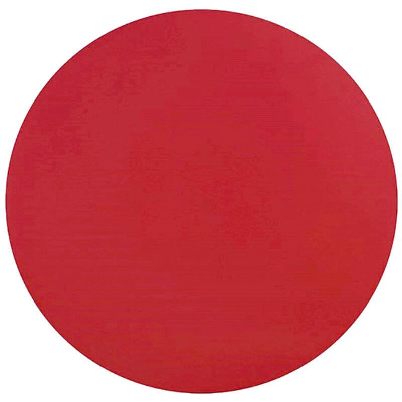 Horeca Tafelblad Rond Voor Terras - Werzalit Zwart - 60 - 3 Cm Dik - D