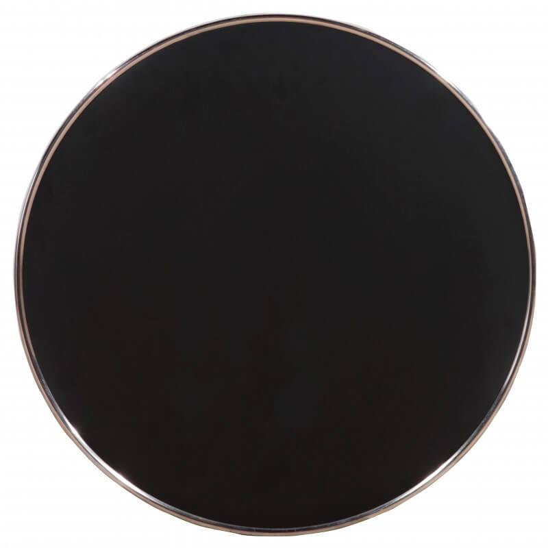 Horeca Tafelblad Rond Voor Terras - Werzalit Zwart - 60 - 3 Cm Dik- D