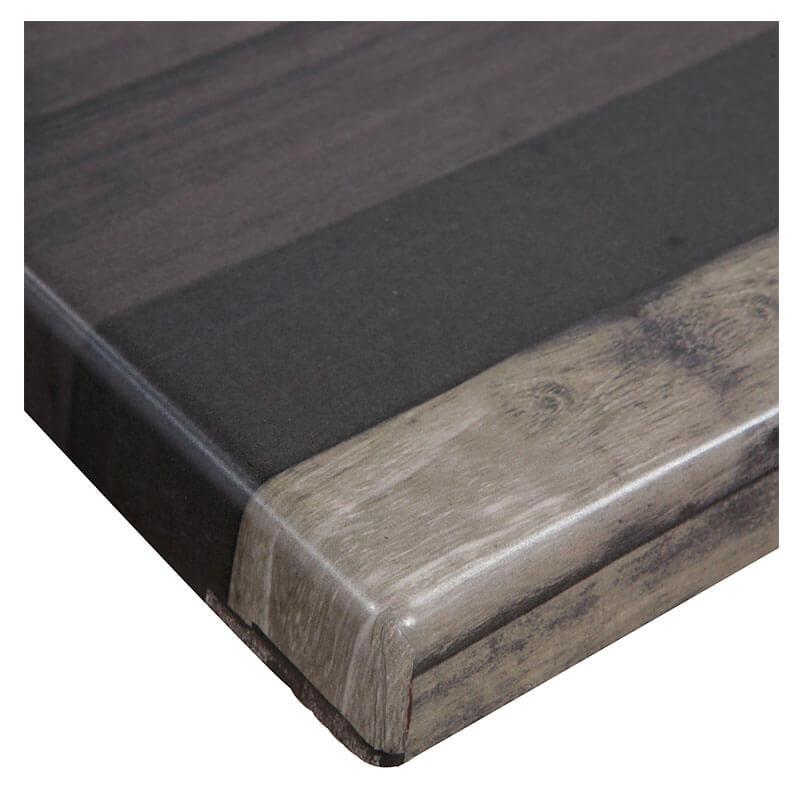 Horeca Tafelblad - Werzalit Blanchas Bruin - 60x60 - 3 Cm Dik - D1