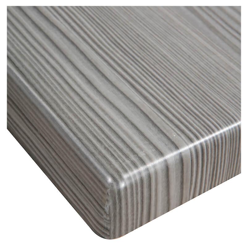 Horeca Tafelblad - Werzalit Grijs Pine - 60x60 - 3 Cm Dik - D1