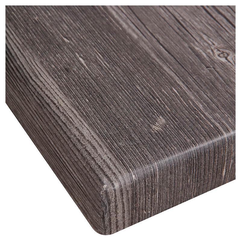 Horeca Tafelblad - Werzalit Oud Pine - 70x70 - 3 Cm Dik - D1