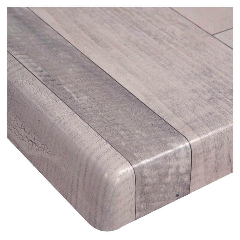 Horeca Tafelblad - Werzalit Wit Blok - 70x70 - 3 Cm Dik - D