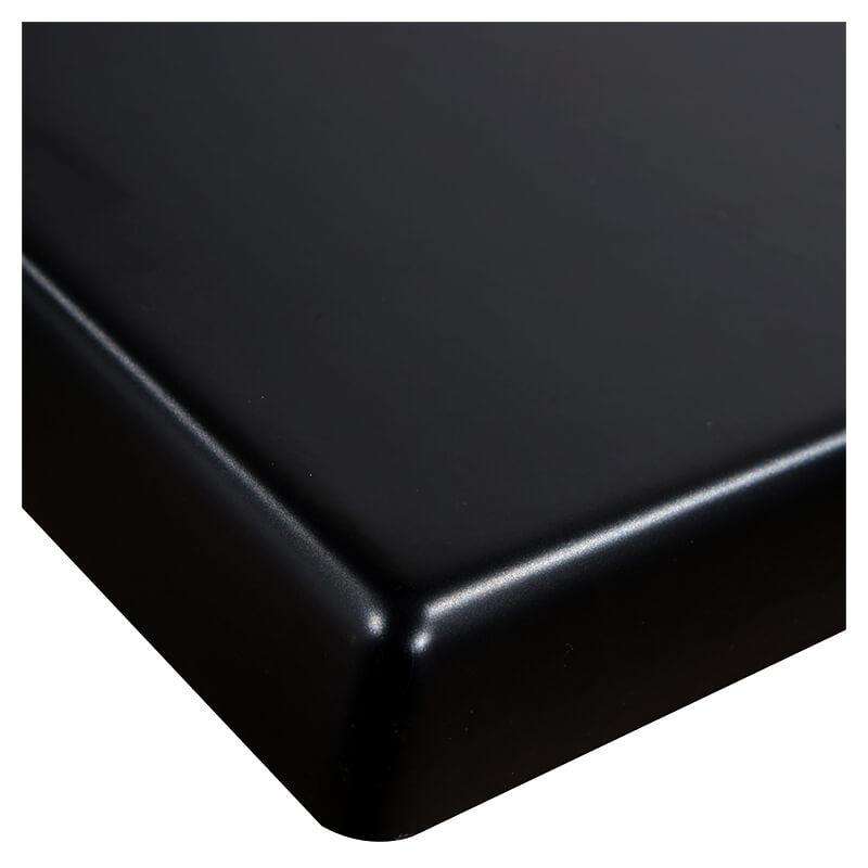 Horeca Tafelblad - Werzalit Zwart - 70x70 - 3 Cm Dik - D1