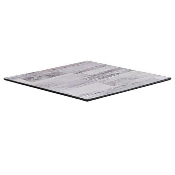 Horeca Tafelblad - Compact Wit Block - 59x59 - 12 Mm Dik - Kopya