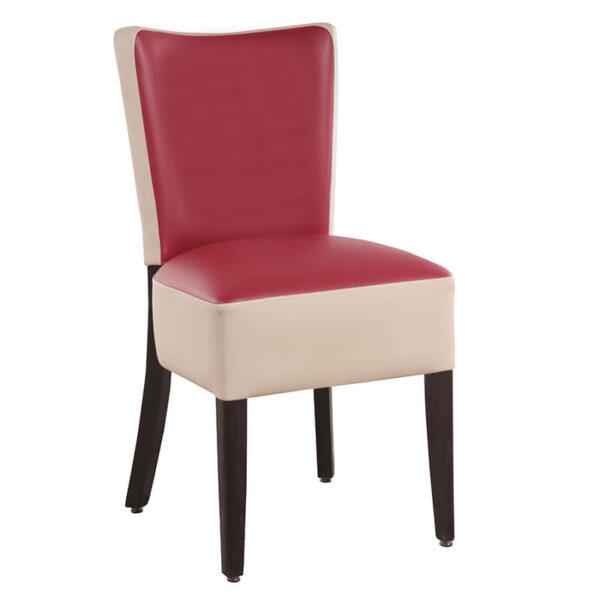 Horeca Chair – Lisa – Red Creme - 1