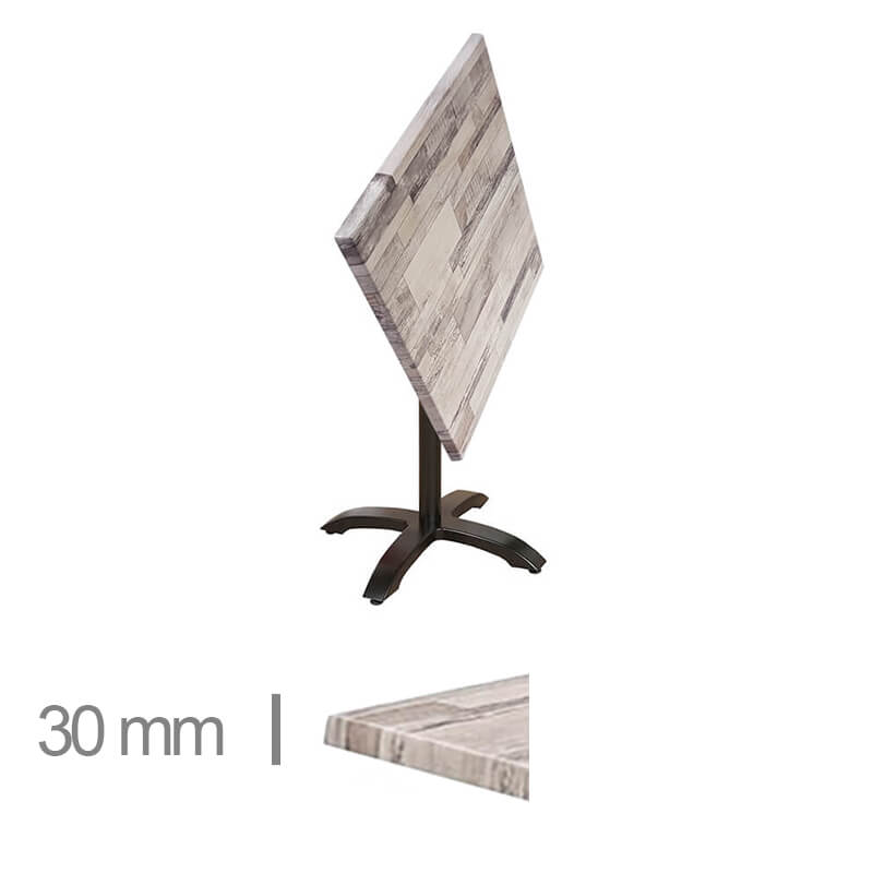 Horeca-Terras-Tafel-Opklapbaar-Werzalit-Wit-Blok-60x60-Cm-Z-30mm