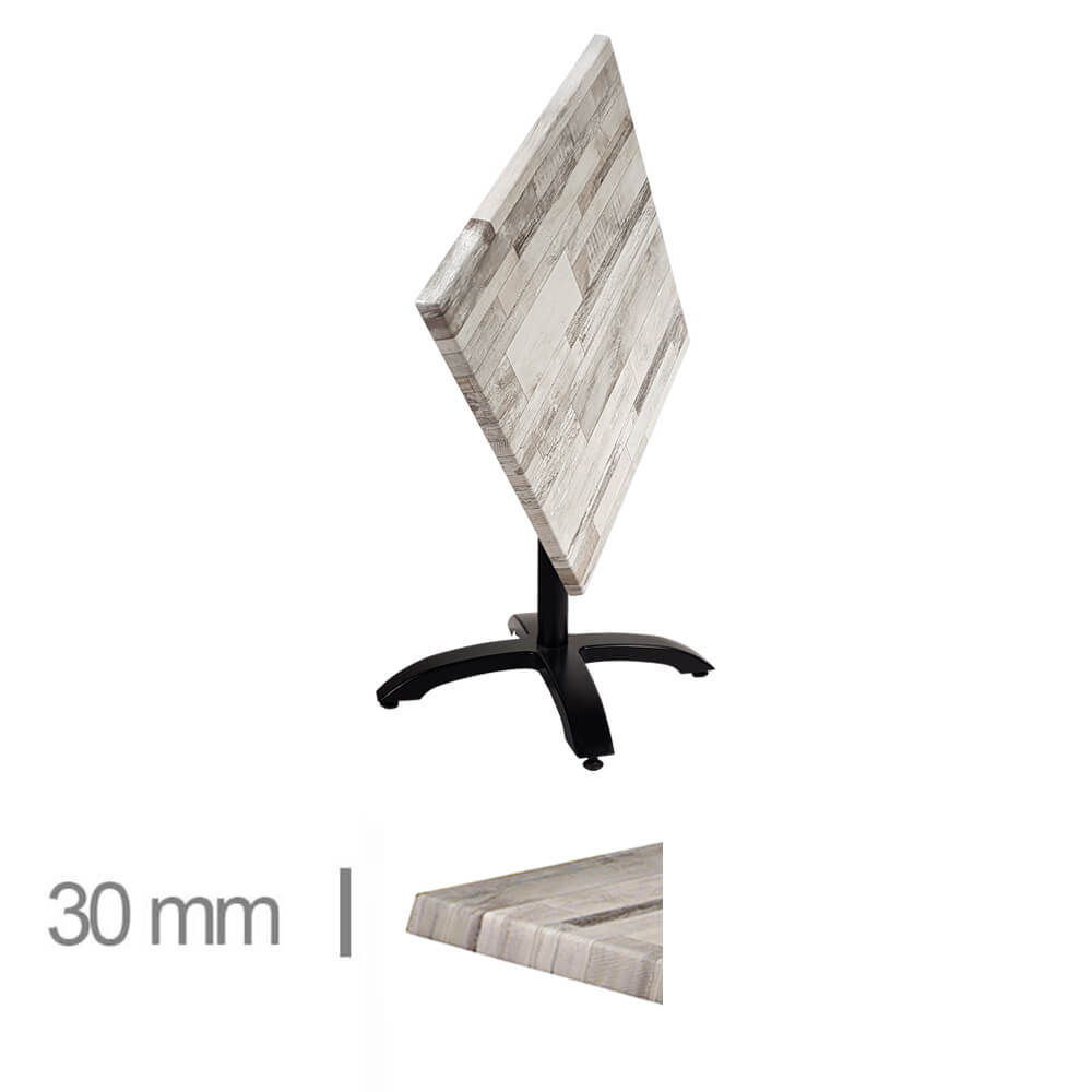 Horeca-Terras-Tafel-Opklapbaar-Werzalit-Wit-Blok-70x70-Cm-Z-30mm