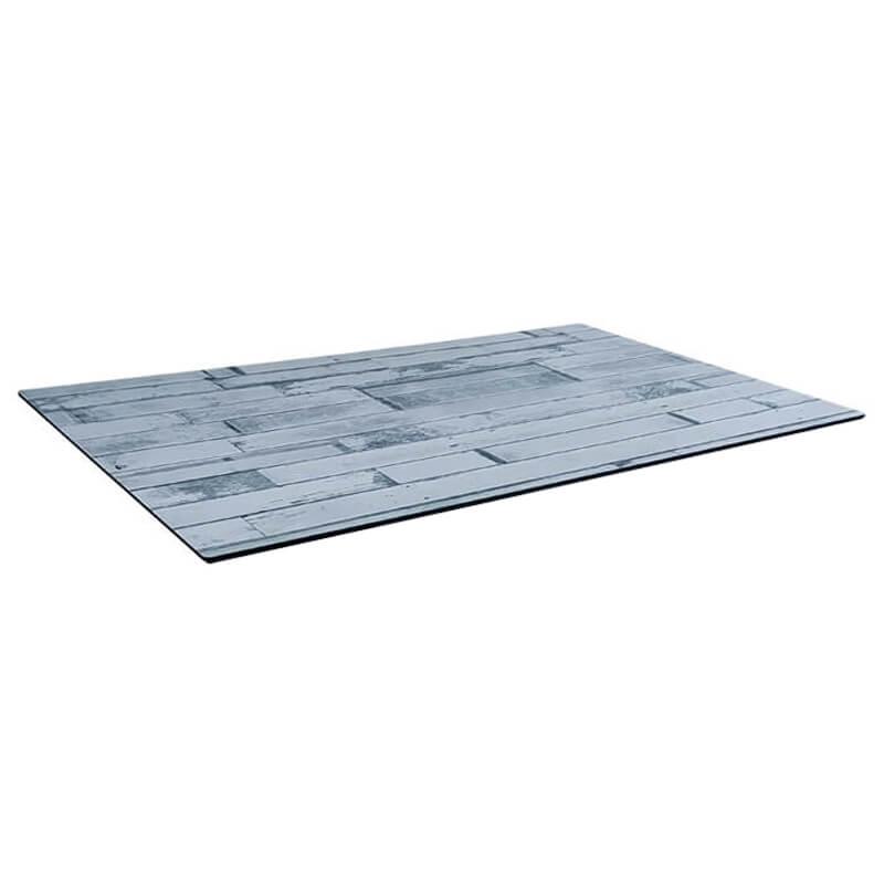 Horeca Tafelblad - Compact Wit Blok - 69x120 Cm