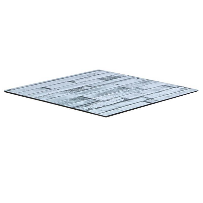Horeca Tafelblad - Compact Wit Blok - 69x69 Cm