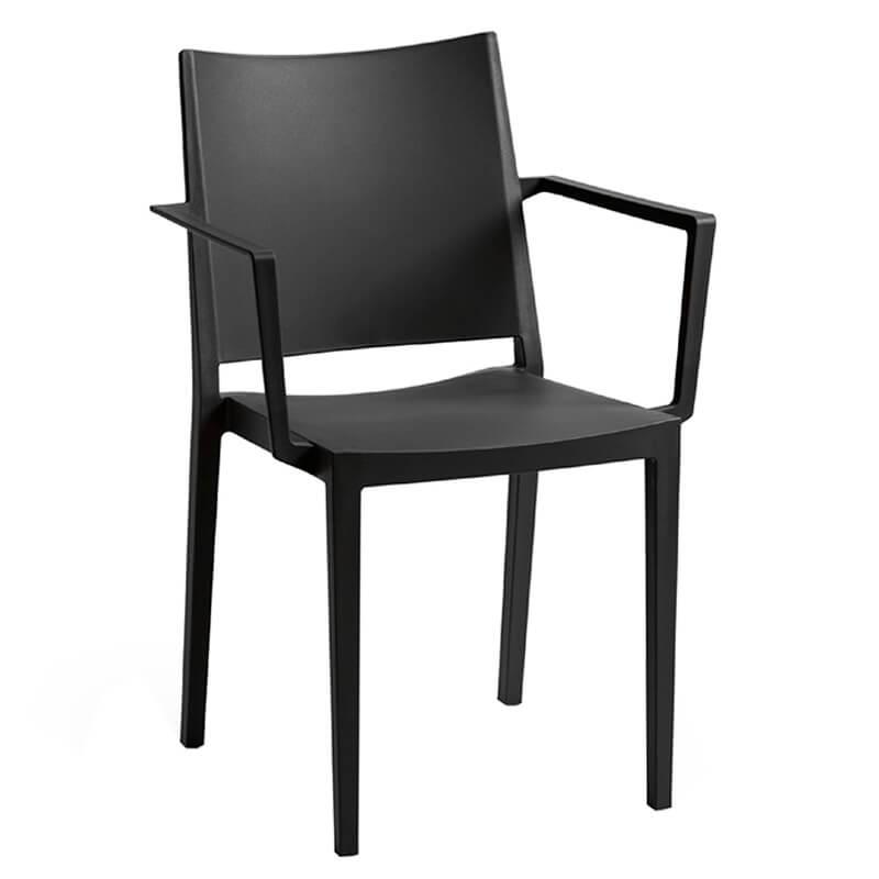 Stapelbaar-Horeca-Terrastoel-Met-Arm-Lorena-Zwart-900