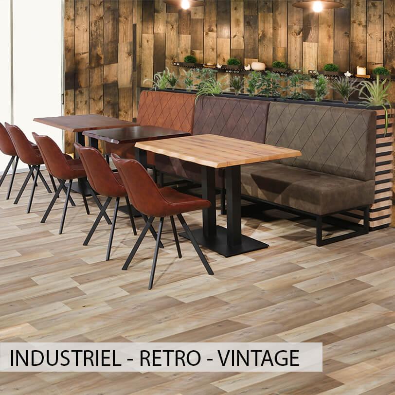 Mobilier industriel vintage